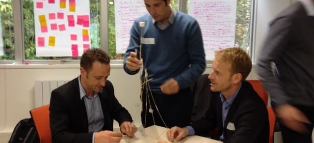 « Le Marshmallow Challenge »